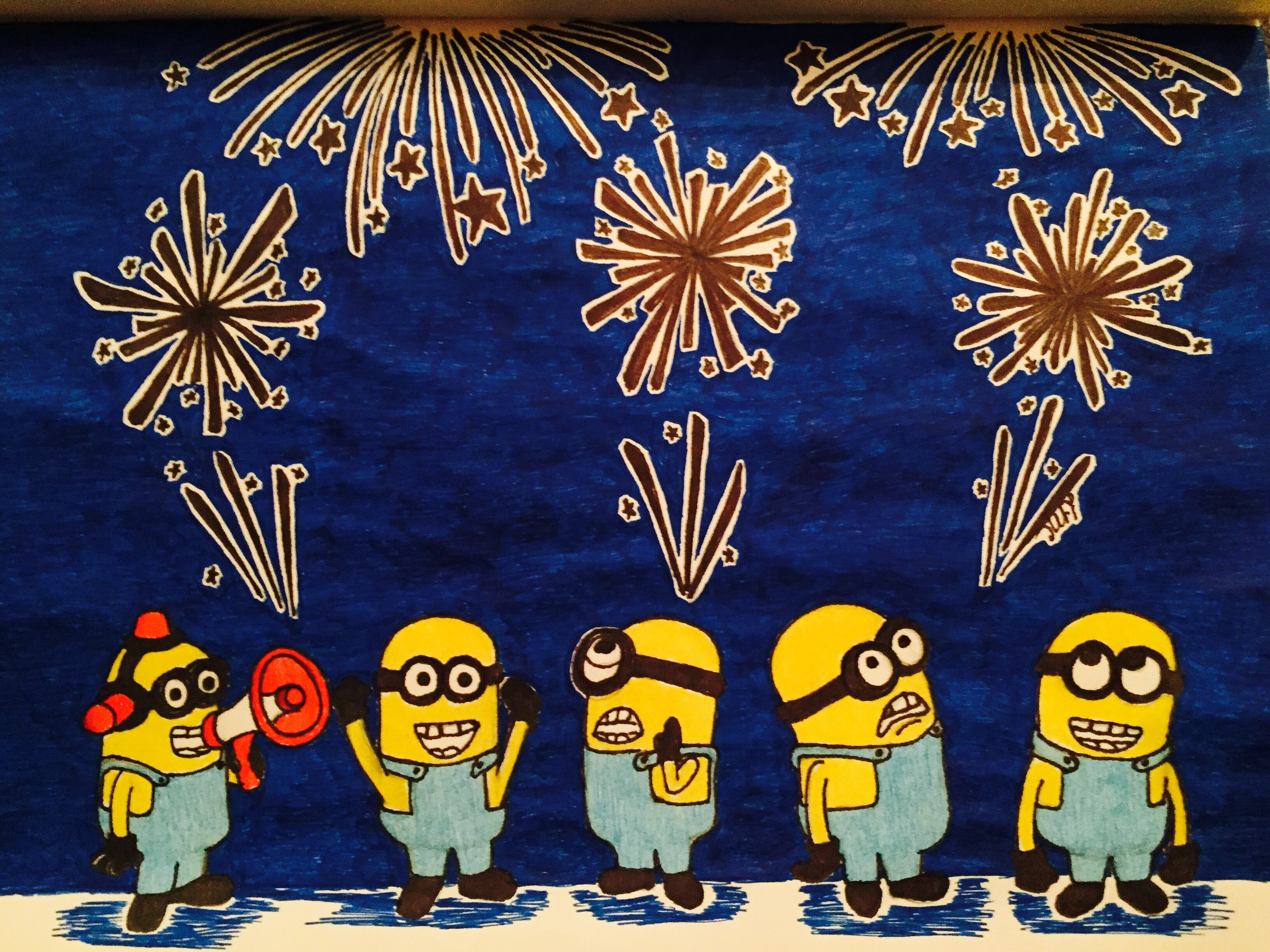 4th of july minions wallpaper - photo #18